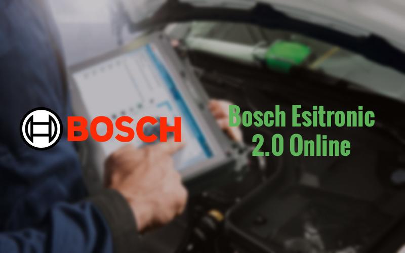 Bosch Esitronic 2.0 Online: aumentano i dati